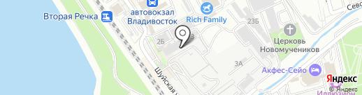 Бир Пекс на карте Владивостока
