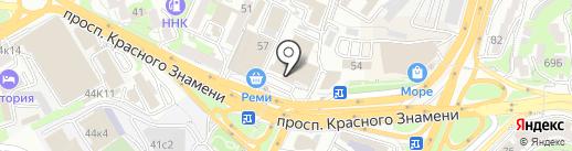 Мой бизнес онлайн на карте Владивостока
