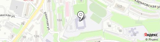 Федерация каратэ Приморского края на карте Владивостока