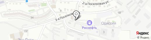Магазин разливного пива на карте Владивостока