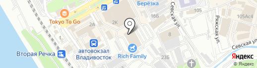 Большой московский цирк-шапито на карте Владивостока