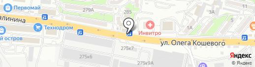 Роза ДВ Int на карте Владивостока