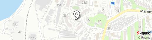 Шторм на карте Владивостока