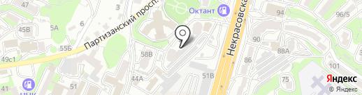 Эгоист & Ка на карте Владивостока