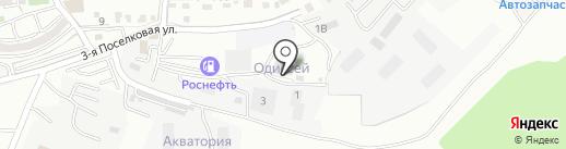 Каньон на карте Владивостока