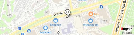 Лакомка на карте Владивостока