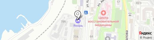 С.О.С.25 на карте Владивостока