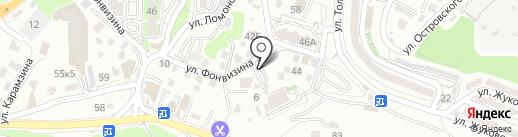 NAYAHOO.RU на карте Владивостока