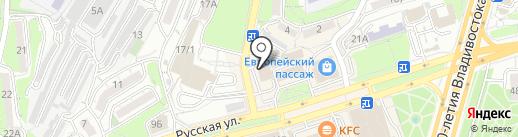 Алистелла на карте Владивостока