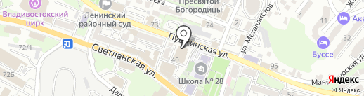 Техносерв на карте Владивостока