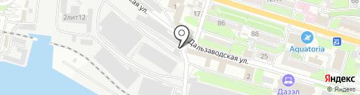 Амаяма Трейдинг на карте Владивостока