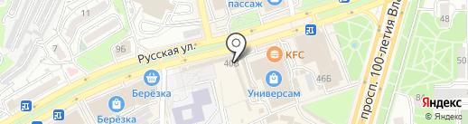 Сеть салонов подарков для дома на карте Владивостока