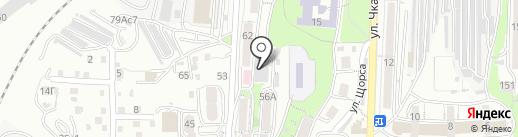 ДИВА-dance на карте Владивостока