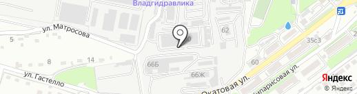 Спайк-ДВ на карте Владивостока