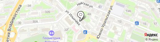 Olga на карте Владивостока