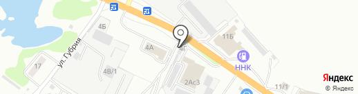 Proxima на карте Уссурийска