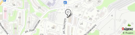 Магазин на карте Владивостока