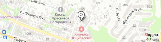 Порт-Н на карте Владивостока