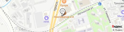 ВЛ Оптик на карте Владивостока