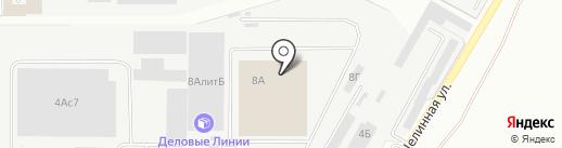 Складской комплекс на карте Уссурийска