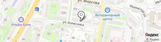 Chardonnay на карте Владивостока