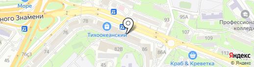 Антураж на карте Владивостока