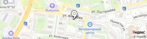 Эко-дизайн на карте Владивостока