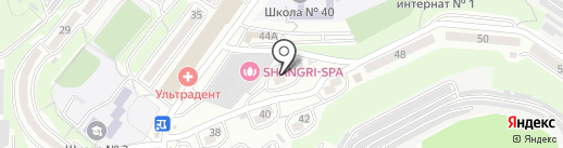 Егоза на карте Владивостока
