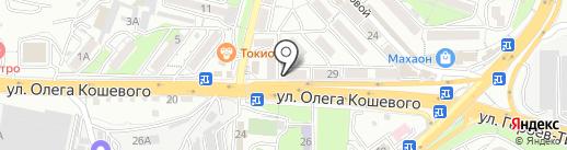 МАЙ-МАЙ на карте Владивостока