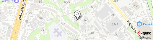 Анвиол на карте Владивостока