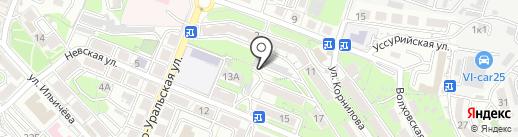 Открытие Финансовые Решения на карте Владивостока
