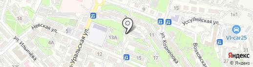 АТМ Альянс на карте Владивостока
