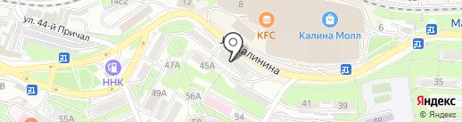 Точка24 на карте Владивостока
