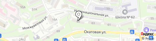 Влад-Хост на карте Владивостока