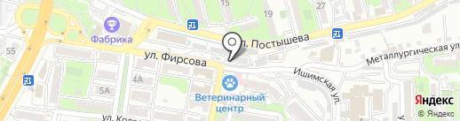 Статус на карте Владивостока