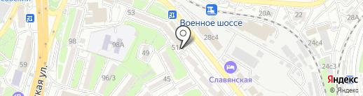SKILL на карте Владивостока