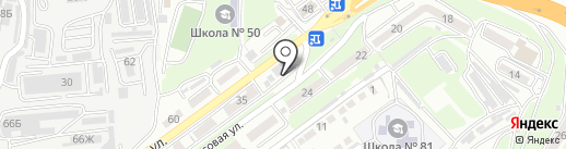 Магазин запчастей для бытовой техники на карте Владивостока