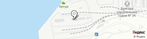 ПортМеханизация на карте Владивостока