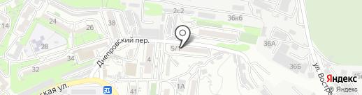 Тэффи на карте Владивостока