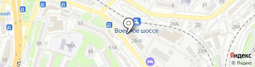 Мастерская по изготовлению ключей на карте Владивостока