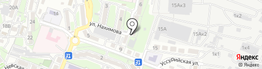 АкваМастер на карте Владивостока