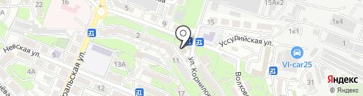 Лэй Тай на карте Владивостока