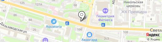АКБ Связь-банк, ПАО на карте Владивостока