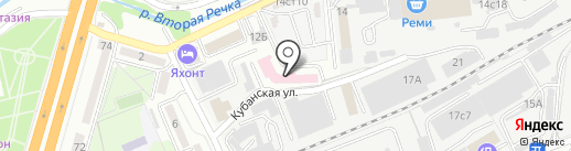 Город Стройных на карте Владивостока