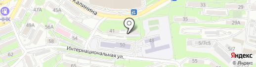 На Мальцевской на карте Владивостока
