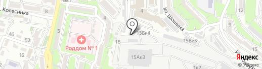 Эллада на карте Владивостока