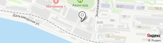 ДВ Кадастр на карте Владивостока