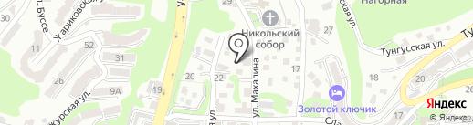 Грандпечать на карте Владивостока