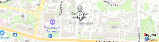 Eskadra Development на карте Владивостока