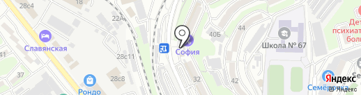 Советский ГОСТ на карте Владивостока